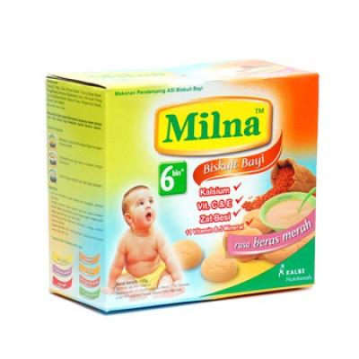 harga Milna Biskuit Bayi Beras Merah 130gr Halobelanja.jstore.co